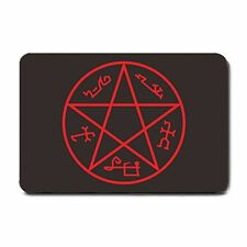 The Pentagram Devil's Trap Demon Ward Sam Dean Winchester Supernatural Doormat