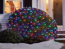 150 LED's SOLAR Christmas Net Lighting - multi color