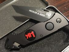 *NICE Heckler & Koch Hershaw Tactical Rescue Survival HK Knife EDC Army EMT