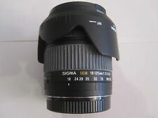 Sigma DC Zoom 18 - 125 mm