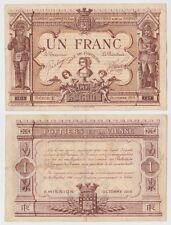 1 franc 1915 POITIERS - Billet de nécessité - Chambre de Commerce France