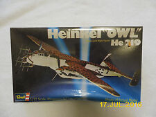 REVELL HEINKEL OWL HE-219 1:72 SCALE FACTORY SEALED