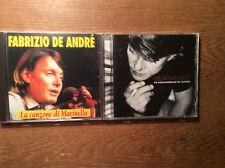 Fabrizio DE ANDRE [2 CD ALBUM] mi innamoravo di tutto + CANZONE