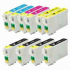 10 Multi-Pack refilled ink 126 T126 For Epson WorkForce 645 840 845 7010
