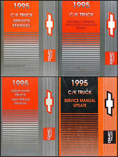 1995 GMC Sierra Shop Manual Set of 4 Pickup Truck C1500 C2500 C3500 K1500-K3500