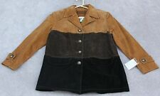 MIMS COLE WOMEN SHELL/LEATHER JACKET Size - S
