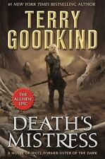 Death's Mistress by Terry Goodkind (2017, Hardcover)
