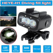 Waterproof 50M Scuba Diving Fill Led Light For GoPro3+,4 SJCAM SJ4000 Gitup Git2