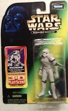 STAR WARS EXPANDED UNIVERSE SPACETROOPER w/3-D PLAY SCENE in STARCASE