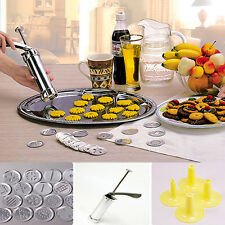 Biscuit Cookie Making Maker Press Pump Machine Decorating Gun Kitchen Tools Set