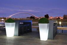 Vaso Luminoso mod.Lago Maggiore - Linea Modum con di kit luce - Design Giardini