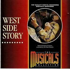 WEST SIDE STORY - CD (1993) PAUL MANUEL, CAROLINE O'CONNOR, TINUKE OLAFIMIHAN