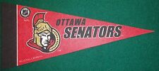 OTTAWA SENATORS NHL MINI PENNANT, NEW & MADE IN USA