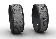 Disney Parks Haunted Mansion MagicBand Limited Release Magic Band Link it Later