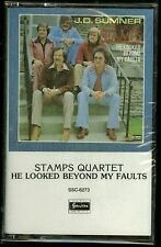 The Stamps Quartet He Looked Beyond My Faults Cassette Gospel CCM J.D. Sumner