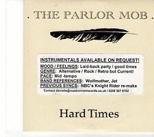 (EY856) The Parlor Mob, Hard Times - 2008 DJ CD
