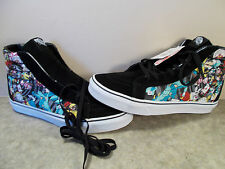 VANS SK8-Hi Disney Alice In Wonderland Rabbit Hole HiTop Shoes Mens Size 9.5 NIB