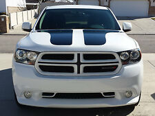 2011-2014 DODGE DURANGO CHALLENGER STYLE HOOD STRIPES DECALS GRAPHICS STICKERS