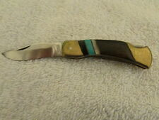 VINTAGE HUNTING CAMPING POCKET KNIFE FOLDING BLADE STAINLESS PAKISTAN
