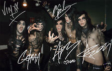 BLACK VEIL BRIDES ENTIRE GROUP AUTOGRAPH SIGNED PP PHOTO POSTER