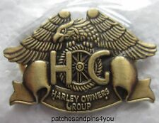 Harley Davidson HOG Harley Owners Group Pin New! FREE U.K. POSTAGE!