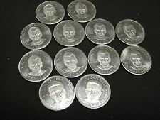 GREAT COLLECTION OF 12 1996 NHL PA LIMITED EDITION HOCKEY COINS