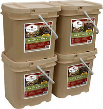 NEW 240 Serving Wise Emergency Survival Supply Kit Freeze Dried Food Meat Bucket