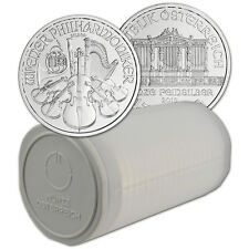 2016 Austria Silver Philharmonic - 1 oz - 1 Roll Twenty 20 BU Coins in Mint Tube