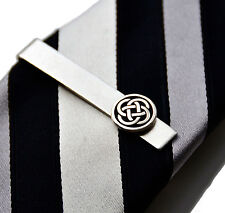 Celtic Tie Clip - Tie Bar - Tie Clasp - Business Gift - Handmade - Gift Box