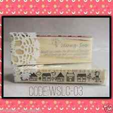 Stamp/Wooden Stamp: Cute Design [Code: WSLC-03]