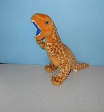 "12"" Walking with The Dinosaurs Yellow Spotted Raptor Dinosaur Stuffed Plush"