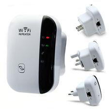 300Mbps Wireless-N WiFi Repeater Router Signal Extender Booster EU US UK Plug