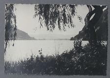 Lac de Nantua Ain Photographie originale années 1950 région France