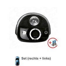 2 x phares LED renault twingo 92-06 Angel Eyes Black/Noir ta4
