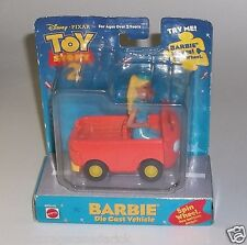 Disney Toy Story 2 Barbie Moves Die Cast Vehicle Mattel - NEW Rare