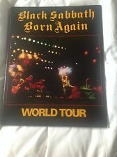 BLACK SABBATH BORN AGAIN CLASSIC TOUR PROGRAMME * NEW * program EXCELLENT Iommi