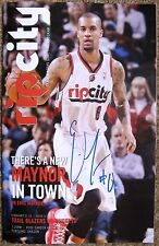 Signed ERIC MAYNOR Trailblazers PROGRAM In-Person Blazers Autograph