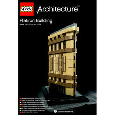 21023 LEGO Flatiron Building ARCHITECTURE Age 12+ / 471 Pieces / 2015 RELEASE!