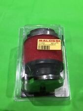 MALOSSI E13 STRAIGHT Red Air Filter for PHBL 20 / 26 / PHBG 15-21 26-30 Carbs