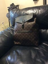 "Louis Vuitton ""Palk"" Monogram Macassar Canvas Backpack Classic"