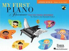 My First Piano Adventure Lesson Book B; Faber, Nancy & Randall. - HL00420261