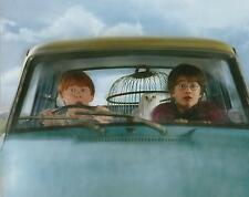 Harry Potter and Ron Weasley in Flying Car Going to Hogwarts 8 x 10 Photo