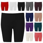 H11D Ladies Womens Cropped Plus Size Hot Pants Cycling Mini Short Length 16-26