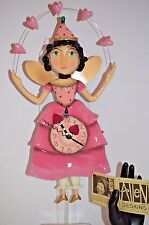 Michelle Allen Designs Clock ELLA BELLA Dancing Princess ship PRIORITY 24 hrs