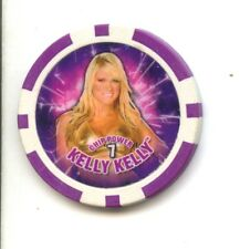 WWE Chipz Kelly Kelly 2009 Plastic Poker Chip MINT Topps