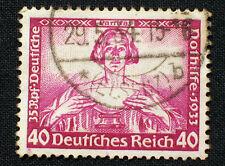 3. Reich aus Wagner Satz 499-507, die Nr.507  gestempelt..................#