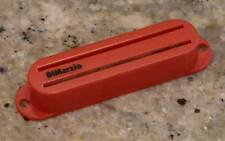 DIMARZIO Red RAIL Pickup cover- Fast Track 1 2, Chopper, Cruiser, Tone Zone S