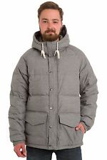 Vans Men's XL METTLER Quilted Hooded Jacket COAT PARKA DOWN NEW HEATHER GREY