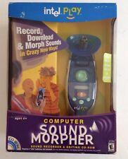 NEW INTEL PLAY Computer Sound Morpher  Electronic Handheld Recorder + Editing CD