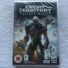 ENEMY TERRITORY QUAKE WARS APPLE MAC/DVD FPS FAST POST ( brand new and sealed )